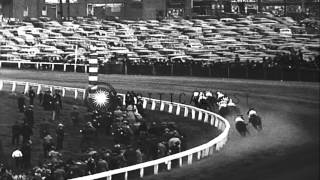 Race horse, Bimelech, jockeyed by Fred A. Smith, wins the Preakness Stakes, in 19...HD Stock Footage