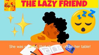 Diligence: The diligent girl and the lazy girl – stories about hard work – the lazy girl story – Primary