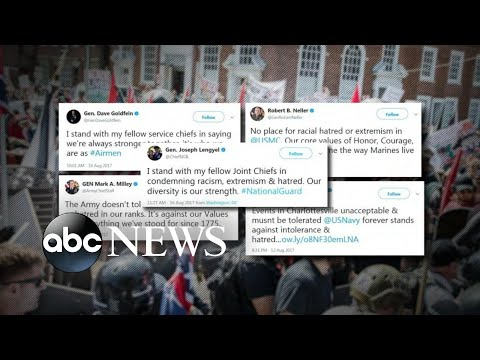 Martha Raddatz on the military's response to Charlottesville