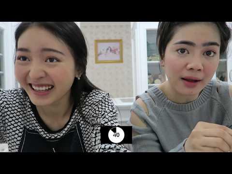 FIVE MINUTE makeup challenge with My Bestie | Natasha Wilona with Felicya Angelista