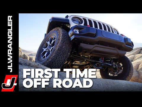 JL JOURNAL : Jeep JL Wrangler Rubicon Off Road For The FIRST TIME