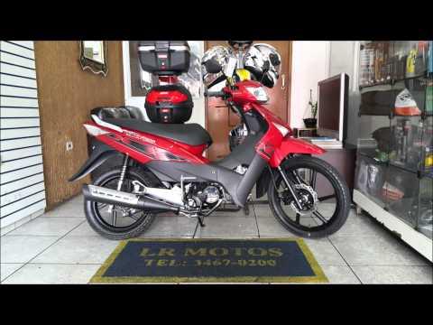 LR Motos - Vende Traxx Sky 125 Vermelha 0km