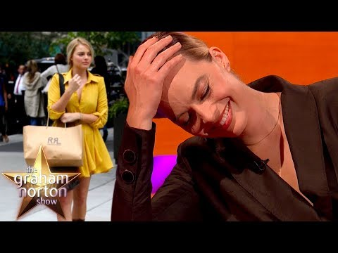 Margot Robbie o ukradeném toaleťáku a o Harrym Potterovi - The Graham Norton Show