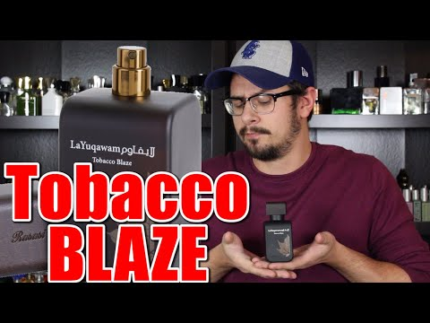 Rasasi La Yuqawam Tobacco Blaze Fragrance Review | Ashy Leather Fragrance