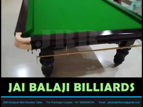 JBB Designer Mini Snooker Table (MS-5)