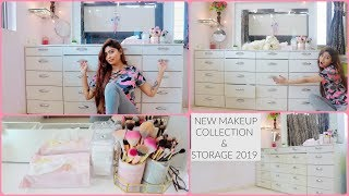 MY MAKEUP COLLECTION & STORAGE 2019 | Rinkal Soni