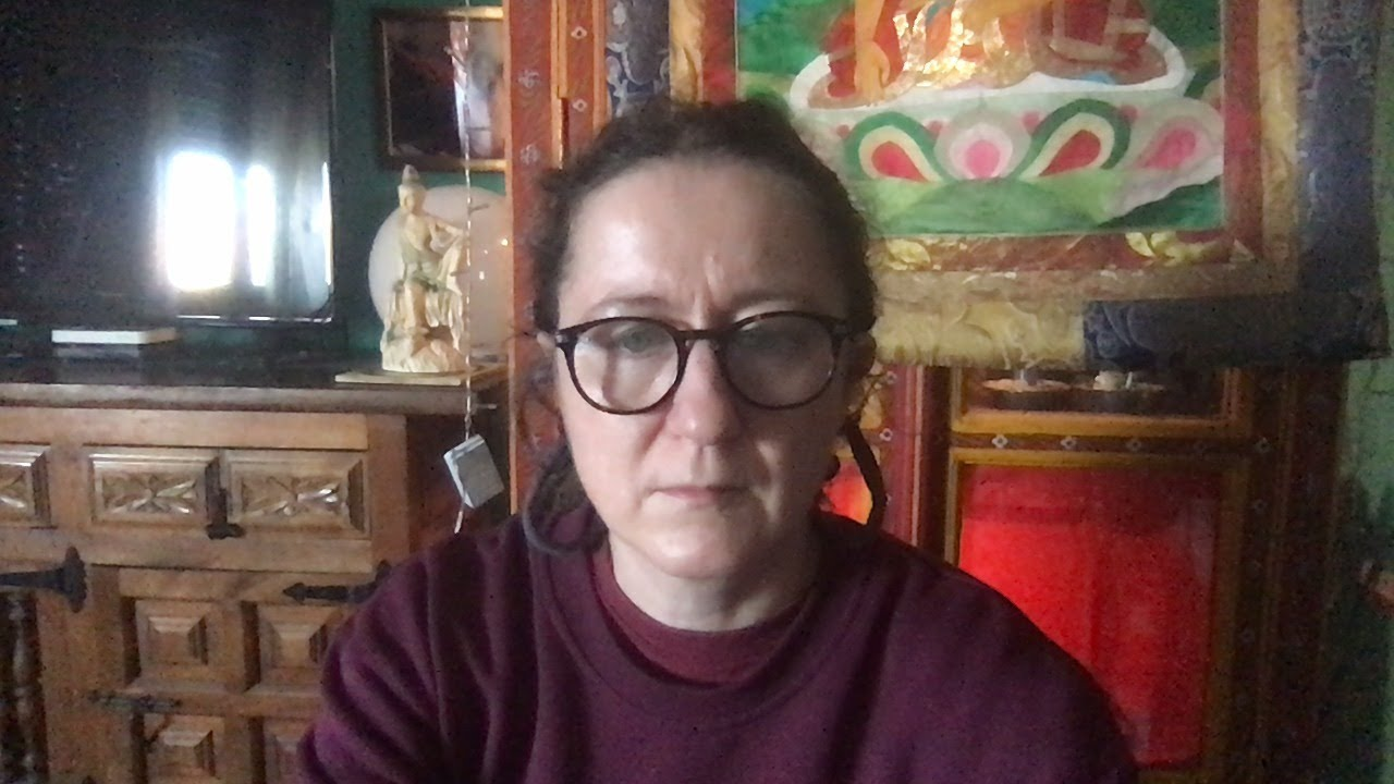 Lama Gangchen Tantric Self-Healing 2- Commentary by Lama Caroline - part 66 (EN) The 32 Major marks of a Buddha