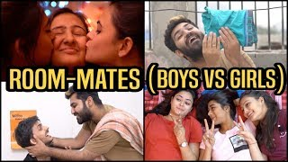 Boys VS Girls :- Roommates || Sushant Maggu