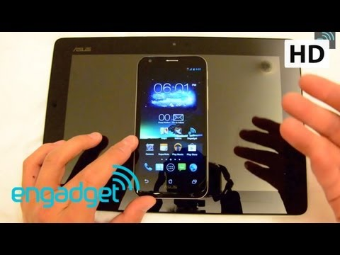 ASUS PadFone 2 Software Hands On | Engadget