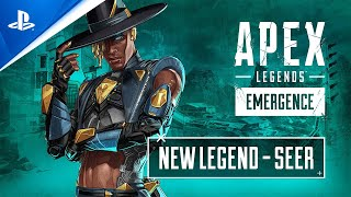 PlayStation Apex Legends: Emergence - Meet Seer Character Trailer | PS4 anuncio