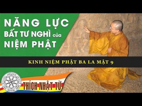 Kinh Niệm Phật Ba La Mật 9: Năng lực bất tư nghì của niệm Phật (29/12/2009)