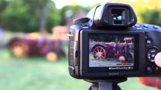 Sony α37: How to get more Zoom