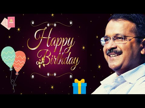 Happy Birthday Arvind Kejriwal | The Journey