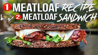 Worlds Greatest Meatloaf Recipe + The Best Leftover Ideas | SAM THE COOKING GUY 4K
