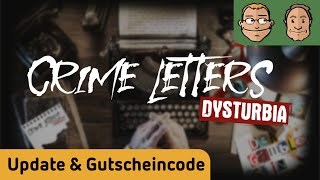 Crime Letters - Update