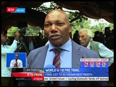 World Under 18 pretrials championships held in Eldoret Kipchoge Stadium to pick athletes befitting