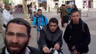 Isaiah 53--Jerusalem Street Preacher--Almost riot