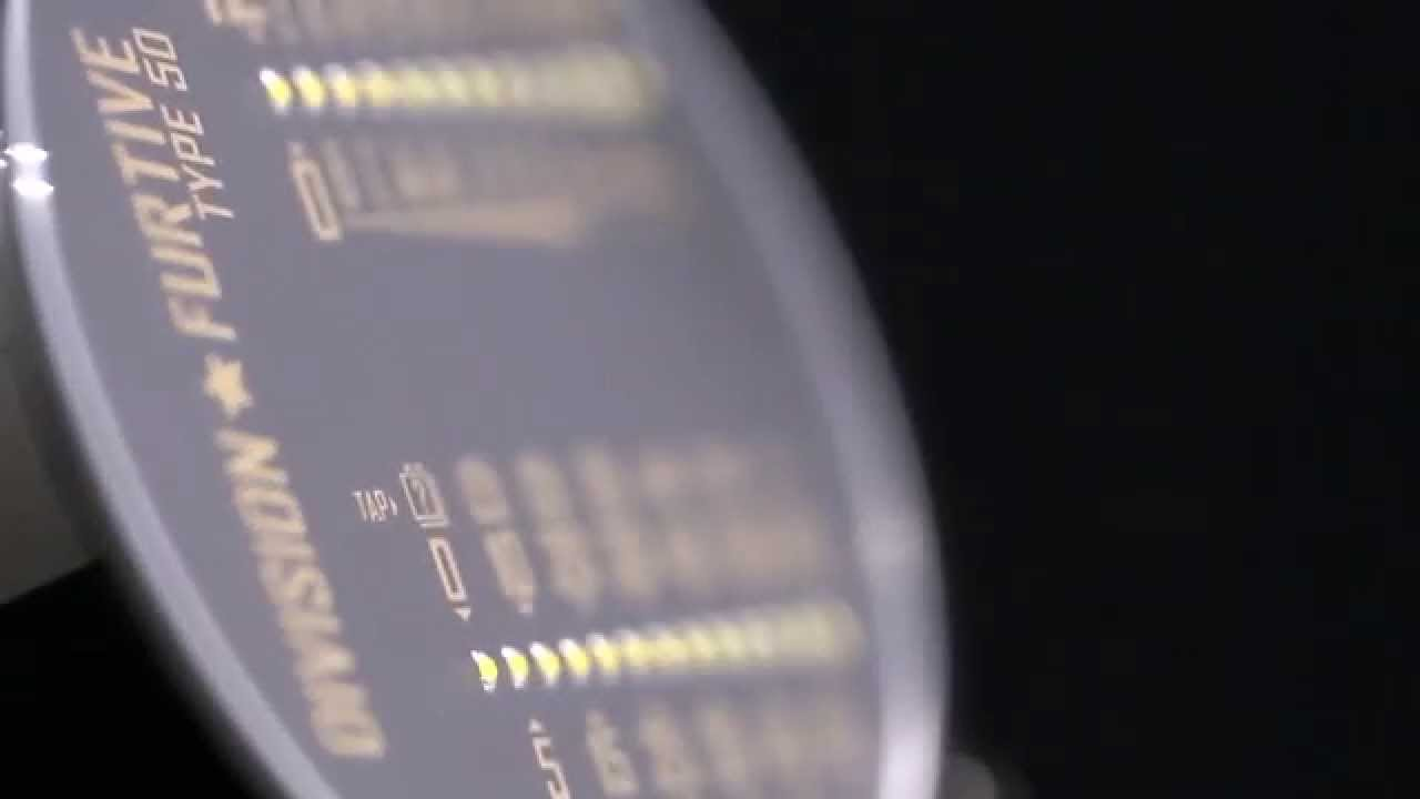 Division Furtive // Type 50 Watch // Dual Linear Movement (Pacific Time) video thumbnail