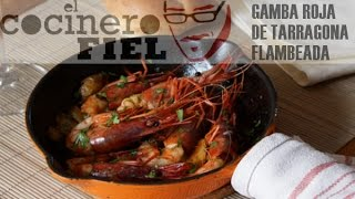 preview picture of video 'GAMBA DE TARRAGONA FLAMBEADA'