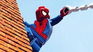 LEGO Marvel Super Heroes 3D The Movie Game 3 - Hawk-Eye, Black Widow, Spiderman