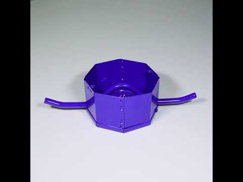 12 inch S&G Metal GI Fan Box, Height 50 mm