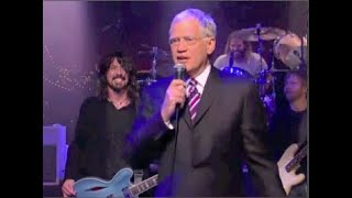 Foo Fighters Everlong Collection On Letterman, 1997-2015