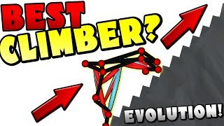 BUILDING THE BEST STAIR CLIMBER? - Evolution Simulator Gameplay Ep 2