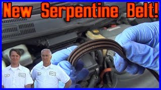 How to Replace Serpentine Belt Toyota Prius