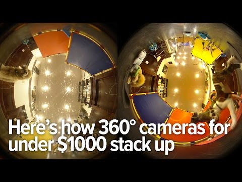 We Tested The Best 360 Degree Cameras Under $1200