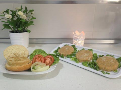 Hamburguesa de pollo casera, Monsieur Cuisine SilverCrest Lidl