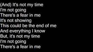 It's Not My Time - 3 Doors Down [Lyrics]