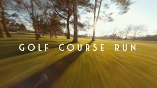 GOLF COURSE RUN - FPV freestyle