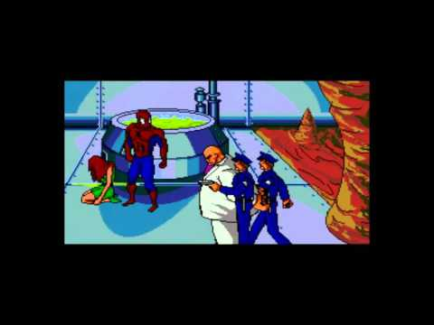 Spider-man vs the Kingpin Sega CD: Good ending