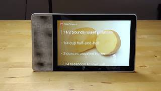 Lenovo Smart Display with Google Assistant unboxing and first impressions