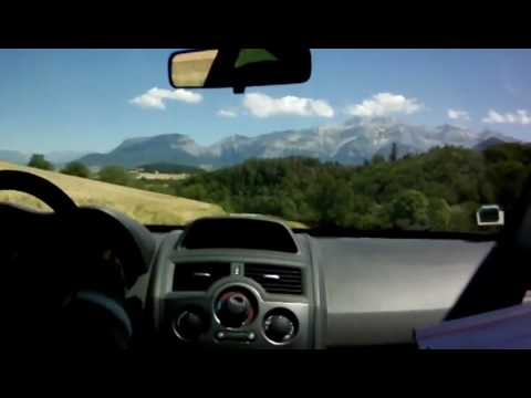 ST MAURICE RALLYE DU TRIEVES 2010 MEGANE R26R EVO RALLY VOITURE OUVREUSE