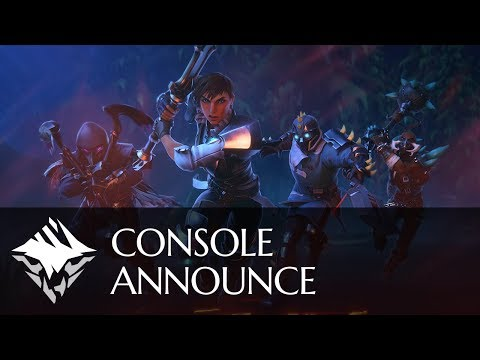 Console Announce | PlayStation 4 & Xbox One de Dauntless