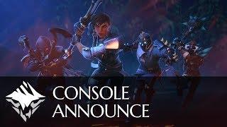 Annuncio versione console