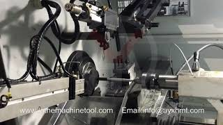 CNC Lathe with Auto Feeder