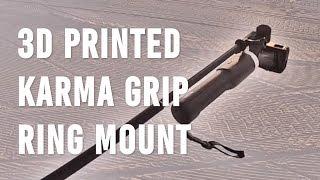 3D Printed GoPro Karma Mounting Ring