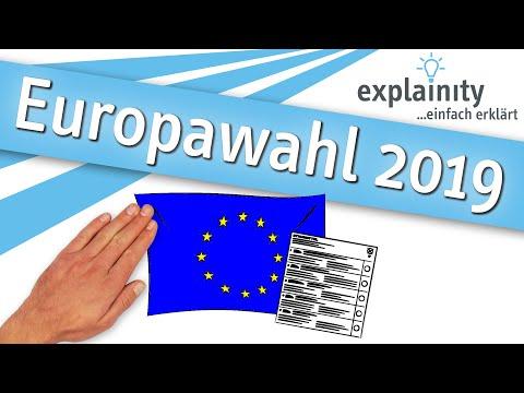 Europawahl 2019 einfach erklärt (explainity® Erklärvideo)