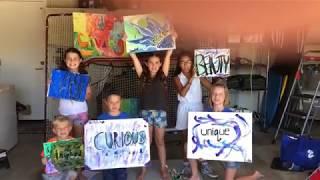 OC  Kids supports Choose Creativity