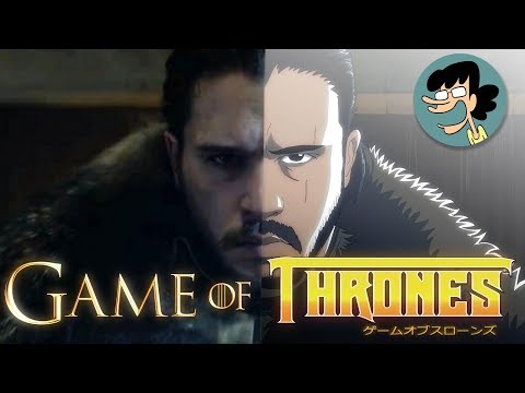 If Game Of Thrones Was An Anime, It'd Look Exactly Like This