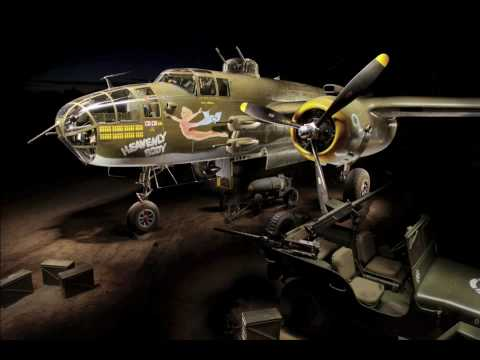Painting With Light: B-25 Bomber