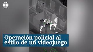 Redada al estilo de un videojuego, el último vídeo de la Policía Nacional en TikTok