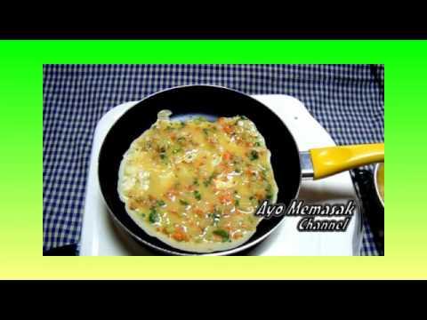 Video Resep dan Cara Membuat Dadar Telur Gulung Khas Jepang