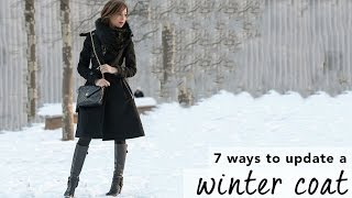 Easy Winter Coat Outfit Ideas I How To Accessorize