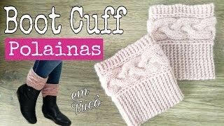 Boot Cuff Polainas Em Tricô | Ana Alves
