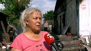 Семья уссурийских пенсионеров пострадала от пожара