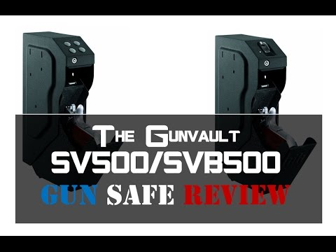 Gunvault SVB500 Gun Safe Reviews