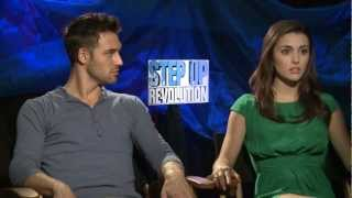 Райан Гузман, 'Step Up Revolution' Kathryn McCormick and Ryan Guzman Interview